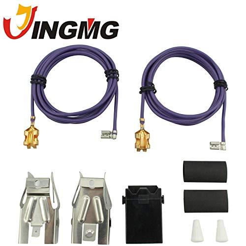 - Jingmg WB17T10006 Range Surface Burner Receptacle Kit for GE Stove