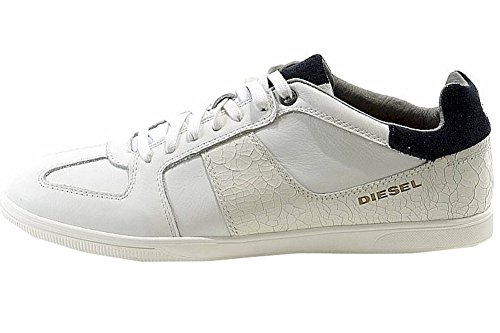 Diesel Herenmode Sneakers Chill-out Schoenen Wit / Blauwe Nacht