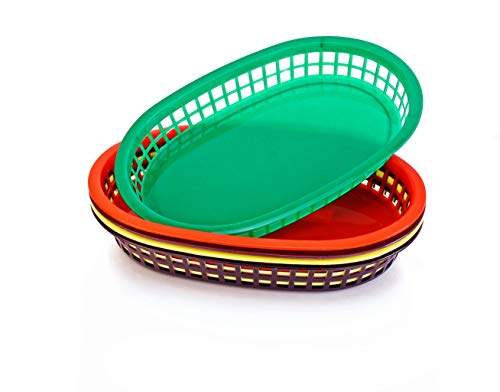 New Star Foodservice 44034 Fast Food Baskets, 10.5 x 7 Inch, Set of 36, Green by New Star Foodservice (Image #3)