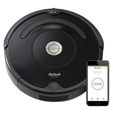iRobot Roomba 675 Robot Vacuum-Wi-Fi Connectivity, Works with Alexa, Good for Pet Hair, Carpets, Hard Floors, Self-Charging (Renewed)