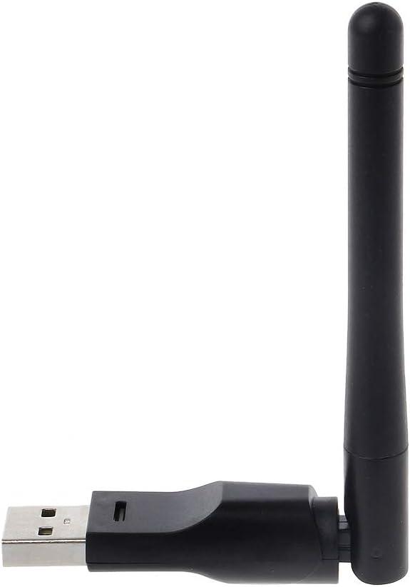 FLYCHENGi Ralin 5370 USB WiFi Adapter with 2dbi External Antenna Wireless LAN Adapter Networkig Card Support WEP Data Encryption WPA