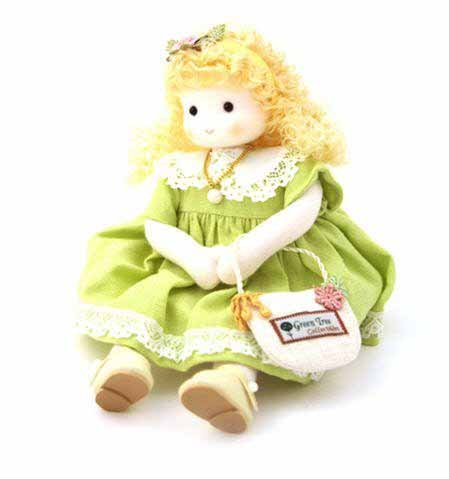 Green Tree Products June - Pearl Musical Doll