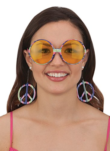 Jacobson Hat Company Peace Sign Glasses