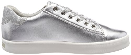 Basses silver Femme Marco 23776 Tozzi Sneakers Comb Argent qBB4tYw