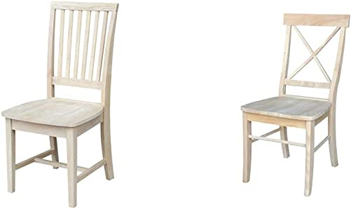 International Concepts Pair of Mission Side Chairs