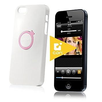 coque iphone 5 avec aneau et perle