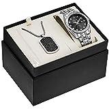Bulova Men's Quartz Stainless Steel Dress Watch, Color:Silver-Toned (Model: 96K104)