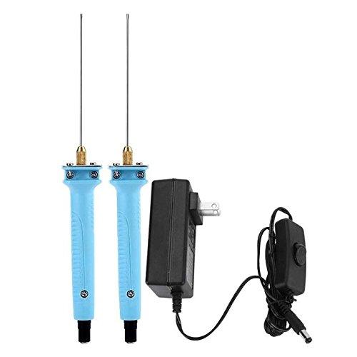 - Plug - 10cm 15w Electric Wire Foam Cutter Pen Tool Supply Art Model Ac100 240v - Adaptor Transformer Carver Stab Cutlery Tongue - 1PCs