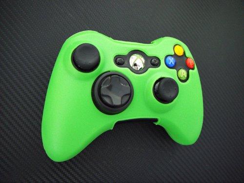 One Piece 1x FOR Xbox 360 Remote Controller Silicon Protective Skin Case Cover -Green Color (Xbox 360 Remote Skins)