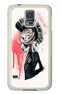 PUNK Custom Samsung Galaxy S5/Samsung S5 Case Cover Polycarbonate White