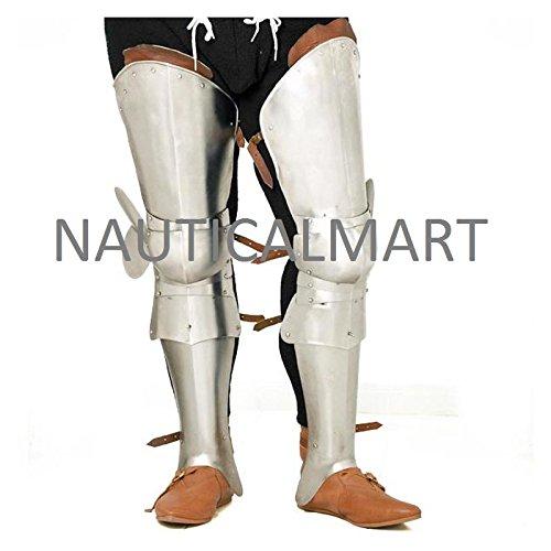 MEDIEVAL ARMOR LEG GUARD BY NAUTICALMART by NAUTICALMART