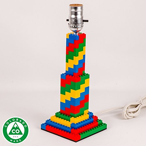 Spiral LEGO Lamp