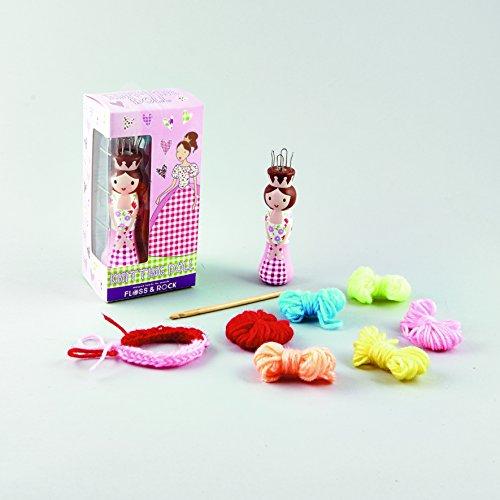Loom Knitting Kits : Floss rock p knit doll loom beginner knitting kit