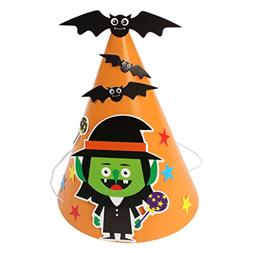 Dovewill Colorful Halloween Pumpkin Bat Spider Cat DIY