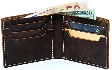 Baurdi Apex Men's Leather Bifold Wallet