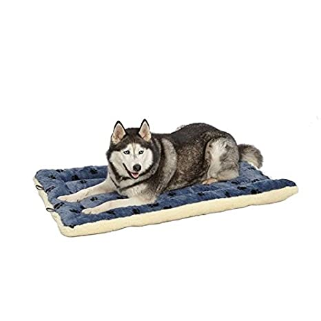 Amazon.com: Cama reversible para mascota, diseño en ...