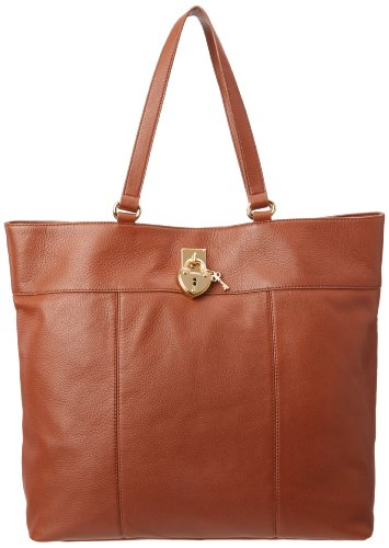 Juicy Couture Roberston Collection Shoulder Bag,Cognac,One Size