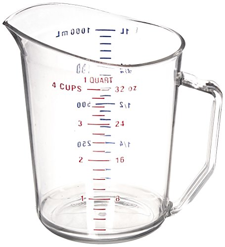 Cambro Manufacturing 100MCCW135 Camwear Measuring Cup 1 qt (1 Each)