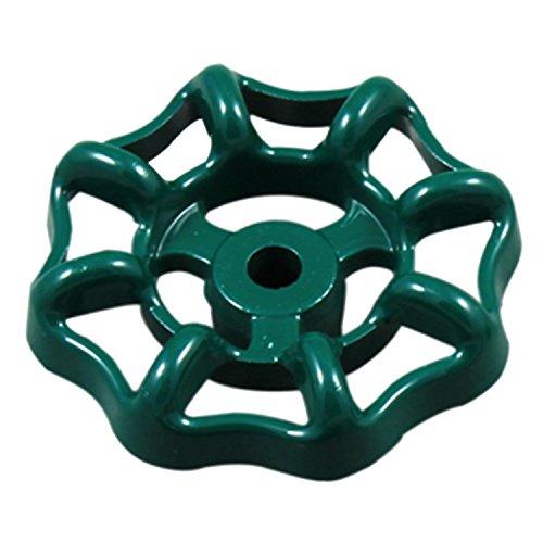 (LASCO 01-5111 Metal Outside Faucet Hose Bibb Round Wheel Handle, Square Broach )