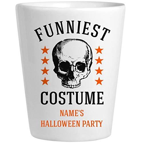 Halloween Costume Awards Funniest: Ceramic Shot Glass -