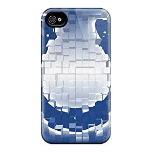 ChrismaWhilten Slim Fit Tpu Protector Dpm10558aqcE Shock Absorbent Bumper Cases For Iphone 4/4s