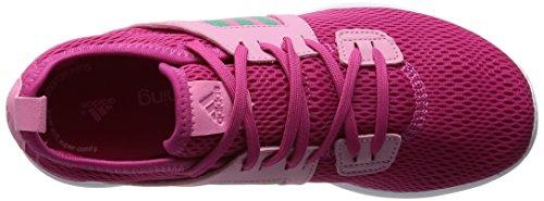 adidas Damen Durama W Laufschuhe, 38.5 EU Mehrfarbig (Pink / Grey - (EQTROS/BRIVER/SEBRRO))