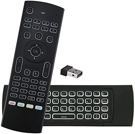 Color: MX3 Standard Calvas MX3 Backlit Air Mouse Smart Voice Remote Control MX3 Pro 2.4G wireless keyboard Gyro IR for Android TV Box T9 X96 mini H96 max