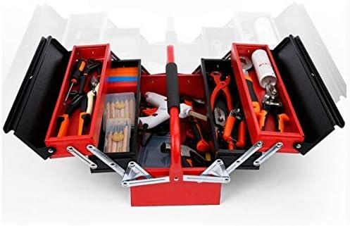 XF Caja de herramientas, plancha, multifunción portátil, caja de ...