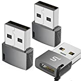 USB C Female to USB Male Adapter(3-Pack),Stouchi