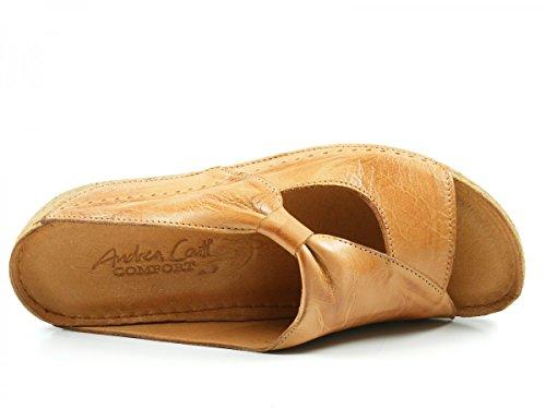 Andrea Conti 0029216062, Zuecos para Mujer marrón - Braun (cognac 062)