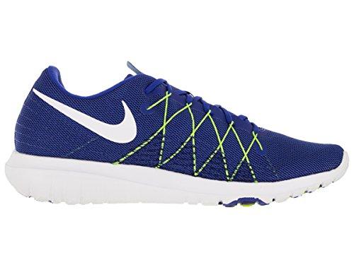 Nike Flex Fury 2 - Zapatillas de running, Hombre Azul / Blanco / Lima (Racer Blue / White-Vlt-Dp Ryl Bl)