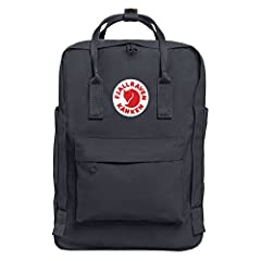 The perfect bag for the college student or the professional. The Kanken Laptop gives you everything you love about your Kanken Classic, but updated to carry and protect your laptop. Features padded straps for added carrying comfort, yet maint...