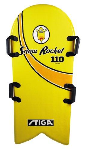 Stiga 75-5513-08 - Softboard Snow Rocket gelb, 110 x 51 x 3,5 cm