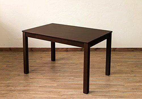 テーブル ダイニングテーブル 引出し2杯付 フリーテーブル 115×75cm/BR B01JFXN8L0BR
