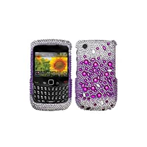 Asmyna BB8520HPCDM194NP Dazzling Luxurious Bling Case for BlackBerry Curve 8520/8530/9300/9330 - 1 Pack - Retail...