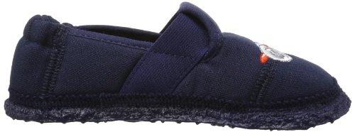 Nanga Flieger - Caña baja de lana niño azul - Blau (Dunkelblau 32)