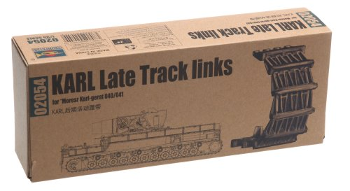 Trumpeter 1/35 Karl Late Workable Track Link Set (190 Links)