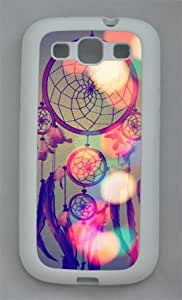 Beautiful Dream Catcher 002 Samsung Galaxy S3 I9300 Rubber Shell with White Edges Cover Case by Lilyshouse by ruishername