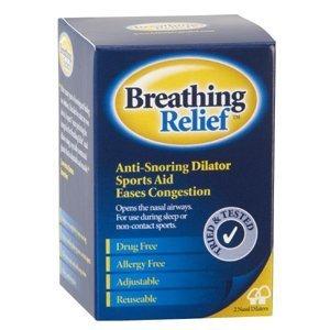 BREATHING RELIEF NASAL DILATOR SET. REUSABLE ANTI SNORING CLIPS. 1 SMALL PLUS 1 MEDIUM DILATOR by Oxyvita Ltd