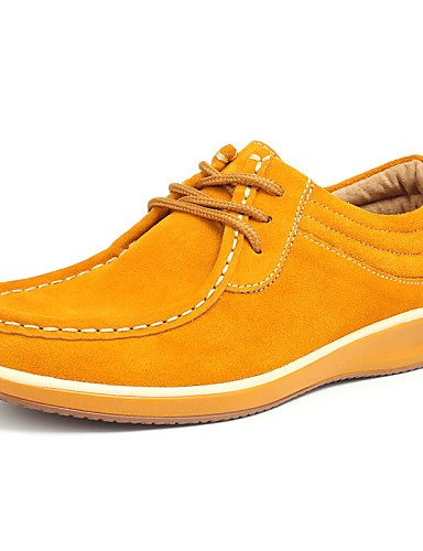5 Amarillo Naranja Tacón Zq Rosa Casual Jane Cn40 De us5 Yellow Uk3 Eu39 Comfort 5 5 Mary Eu36 5 Mujer Ante us8 Plano Zapatos Cn35 2016 Oxfords Uk6 Orange I77wAq6p