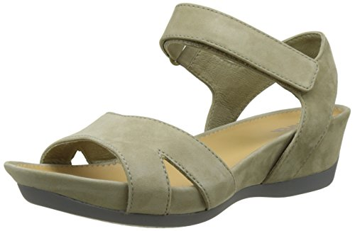 Camper Women's Micro Heels Sandals, Black, 2 UK Beige (Medium Beige 015)