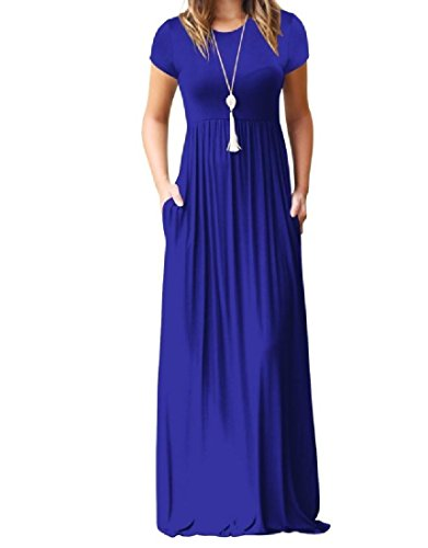 Coolred-femmes Couleur Pure Poche Taille Empire Exotique Manches Courtes Robe De Soirée Fête Décontractée Pattern3