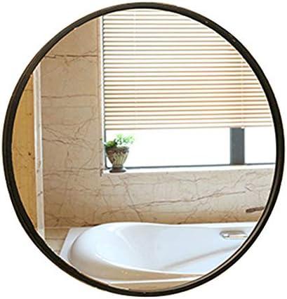 Round Wall Mirror For Bathroom Vanity Mirror For Bedroom Decorative Mirrors For Hallway Iron Art 30 Cm 40 Cm 50 Cm 60 Cm Diameter
