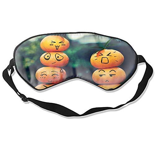 Holiday Halloween Pumpkin Smiley Humor Funny Sleep Eyes Masks - Comfortable Sleeping Mask Eye Cover For Travelling Night Noon Nap Mediation Yoga]()