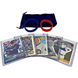 Anthony Rizzo Baseball Cards (5) ASSORTED Chicago Cubs Trading Card and Wristbands Gift Bundle