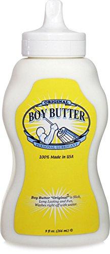 Siam Circus Boy beurre à base d'huile soluble dans l'eau Lube Lubrifiant flacon souple 9 oz