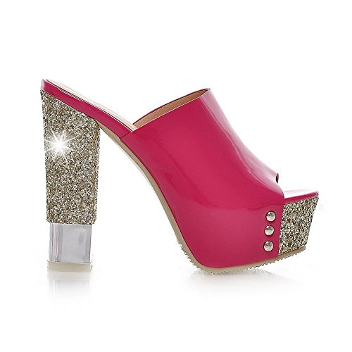 Pantofole Balamasa Donna Con Tacco Alto In Pelle Imitato