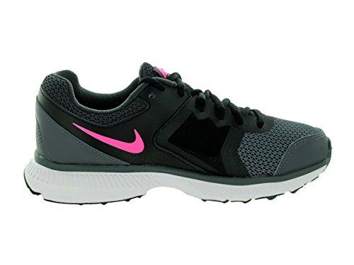Nike Kvinner Zoom Winflo Løpesko Mørk Grå / Svart / Antrasitt / Rosa Pow