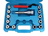 Accusize Industrial Tools 12 Pc Er-32 Collet Set