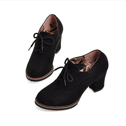 versatile ZQ sleek heeled Winter thick Round with large waterproof QXAutumn and boots Head and boots Taiwan bare Black high shoes women An476Axr